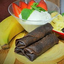 Chocolate Springroll - Choc-Bananna