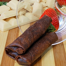 Chocolate Springroll - White…